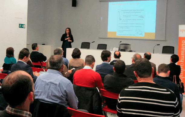 Jornada sobre Planes Estratégicos – Ana Ribera, consultora senior de Equipo Humano.