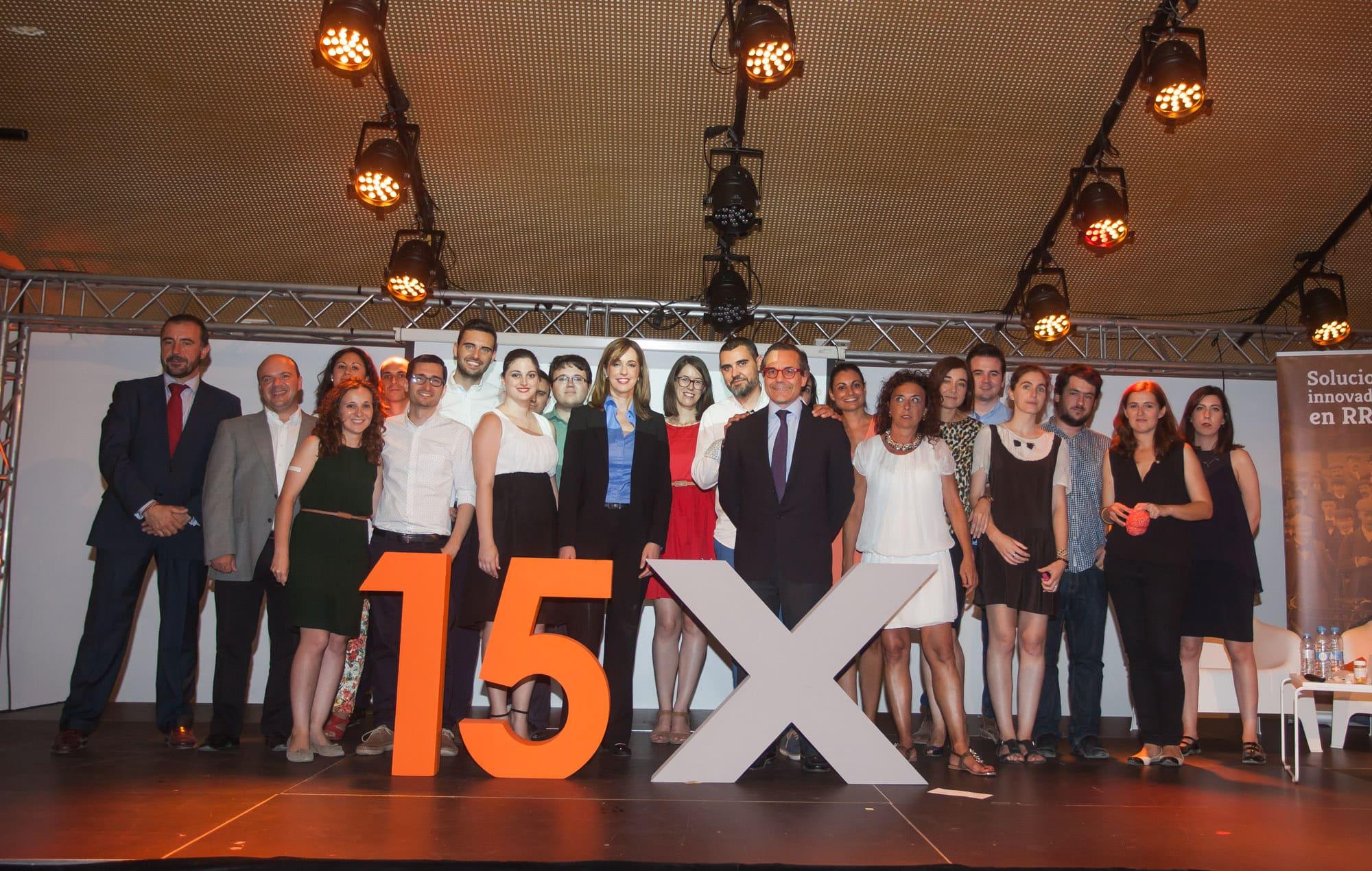 Celebración 15 aniversario Equipo Humano