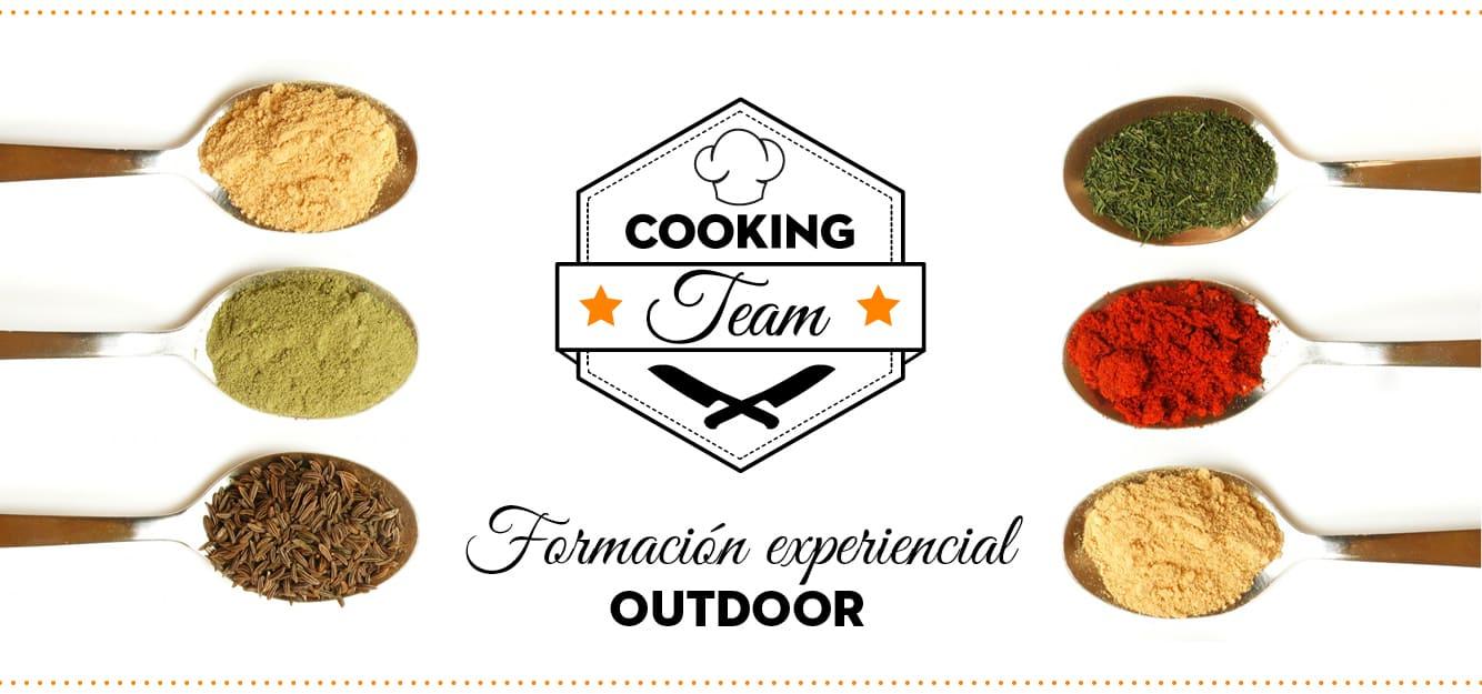 Cocina y trabajo en equipo