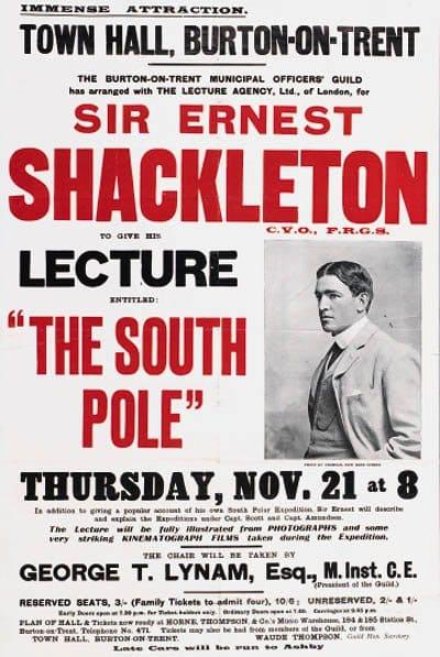 Ernest Shackleton, o el desierto helado del liderazgo.