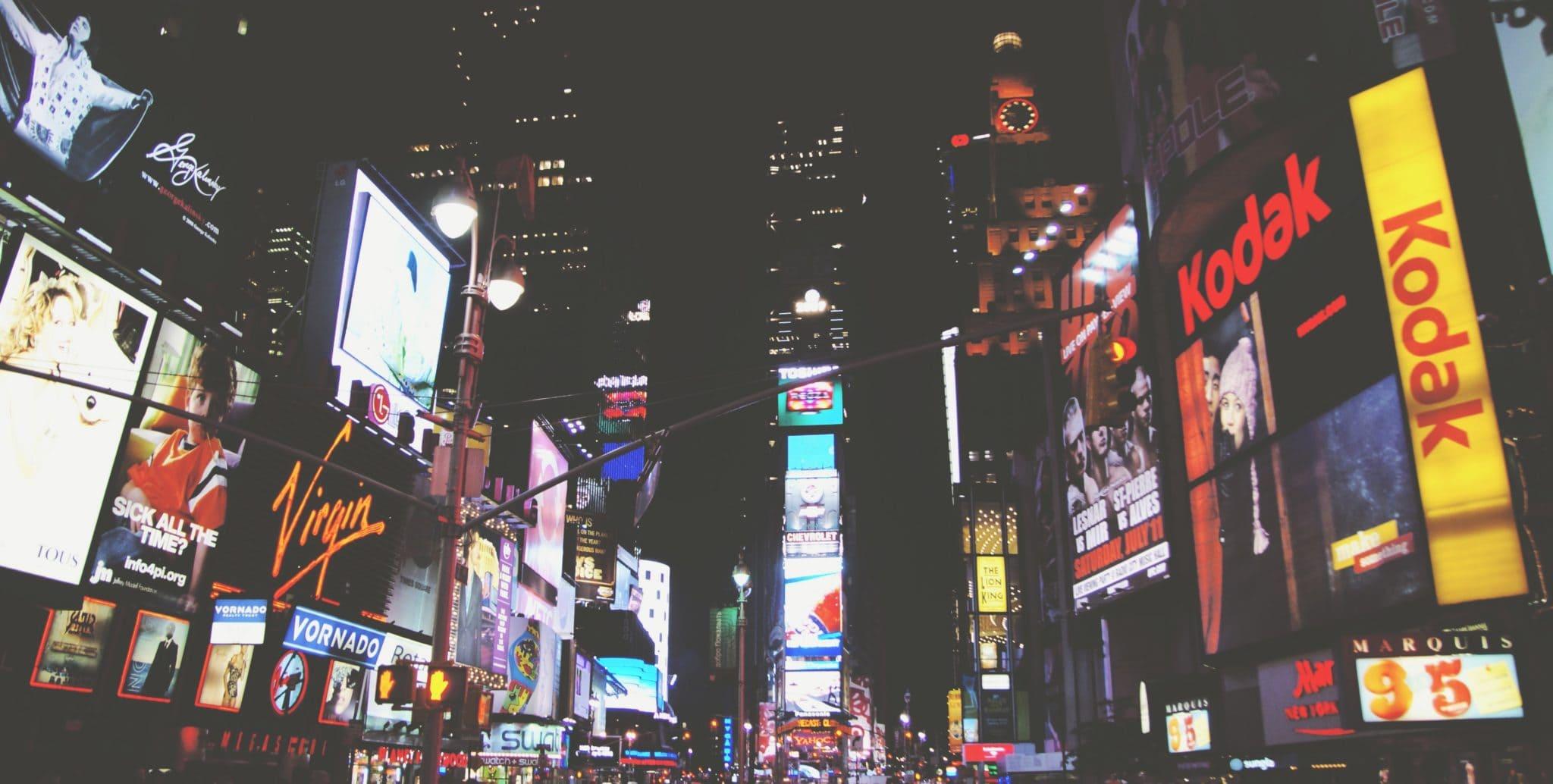 night-square