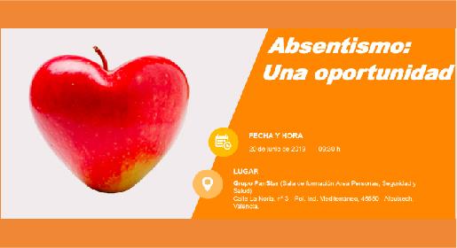 Absentismo: Una oportunidad</br>20 de junio