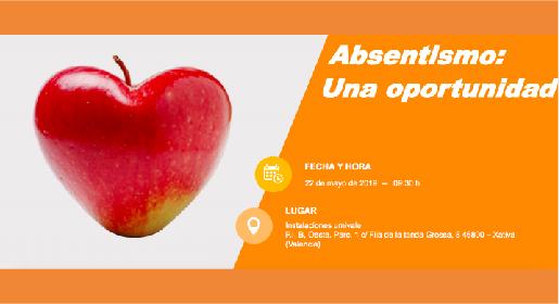 Absentismo: Una oportunidad.</br>22 mayo