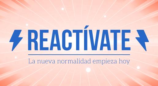 Reactívate: Formación online gratuita<br>19 octubre
