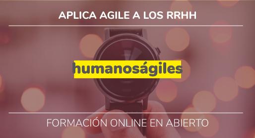 Formación online: Agile en RRHH.<br>26 octubre