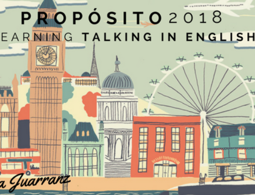 Propósito 2018: learning talking in english