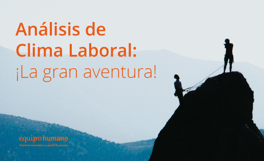 Análisis del clima laboral: ¡La gran aventura!