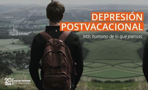 Depresión postvacacional: Algo muy humano