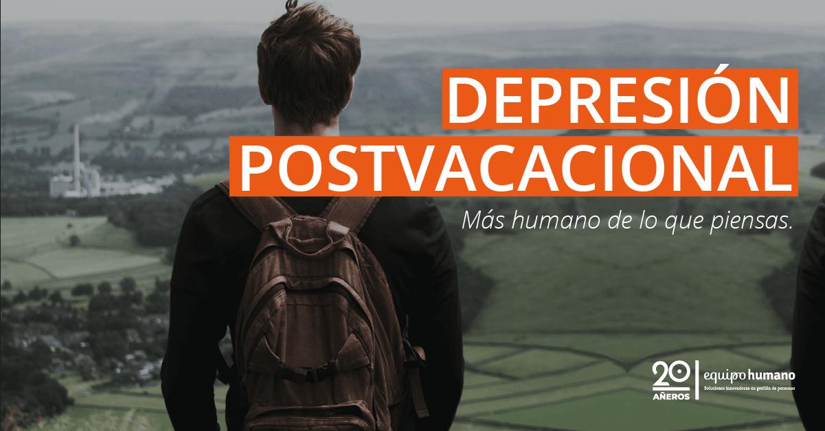 Depresión postvacacional