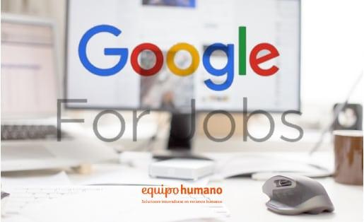«Google For Jobs» llega a España