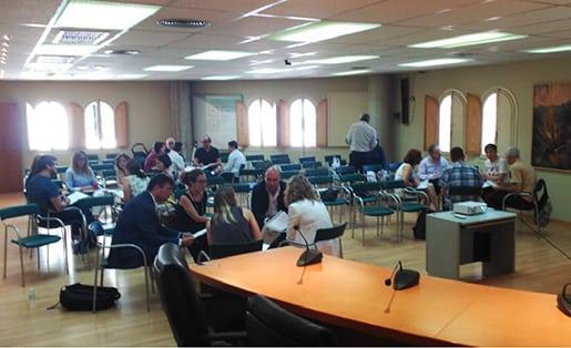Networking por grupos en el Focus Pyme.<br>20 de junio