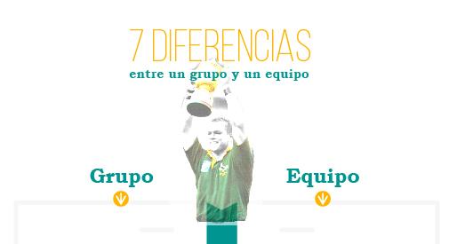Diferencias entre un grupo y un equipo