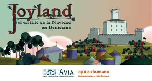 Joyland con Avia.<br>22 de diciembre