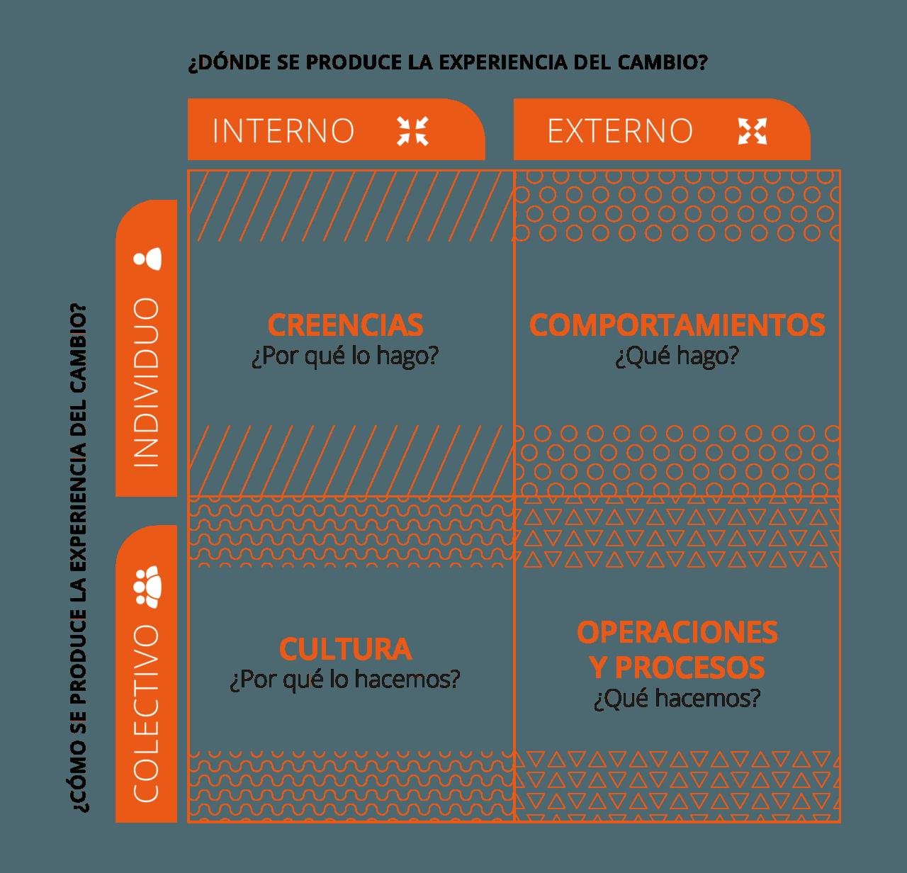 Transformación cultural empresa: Modelo Ken Wilber