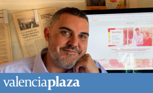 Ask to Grow y Equipo Humano: Noticia en Valencia Plaza