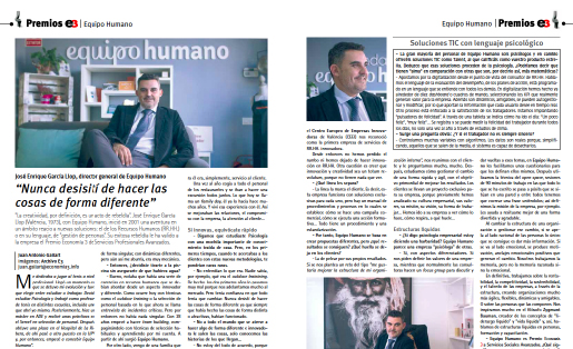 Economía 3 entrevista a Jose Enrique García