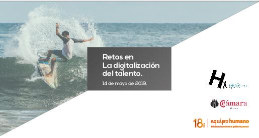 Retos en la digitalización del talento.</br>Murcia – 14 de mayo