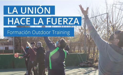 La unión hace la fuerza: Formación outdoor training.