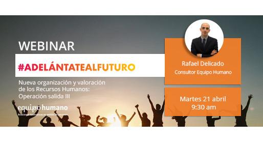 Webinar: Nuevos Recursos Humanos</br>21 abril