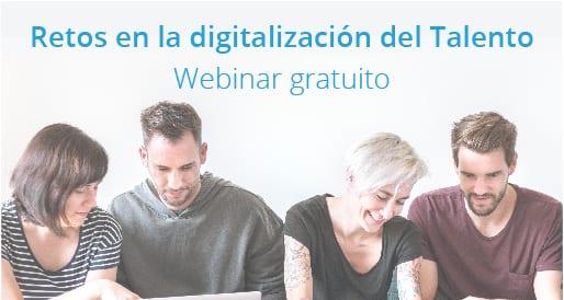 Webinar gratuito: Digitalización del talento.<br>21 de noviembre